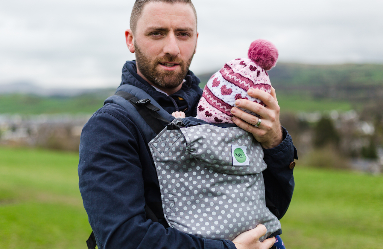 KahuBaby Carrier for mums and for dads