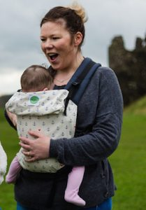 Buy your KahuBaby Carrier in Anchored Love print