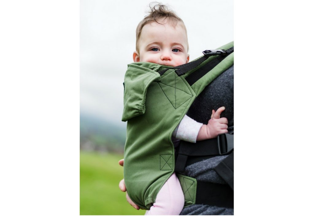 KahuBaby Carrier in Moss Green