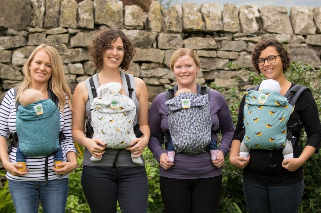 Buy your KahuBaby carrier from the Jojo Coco Design collection