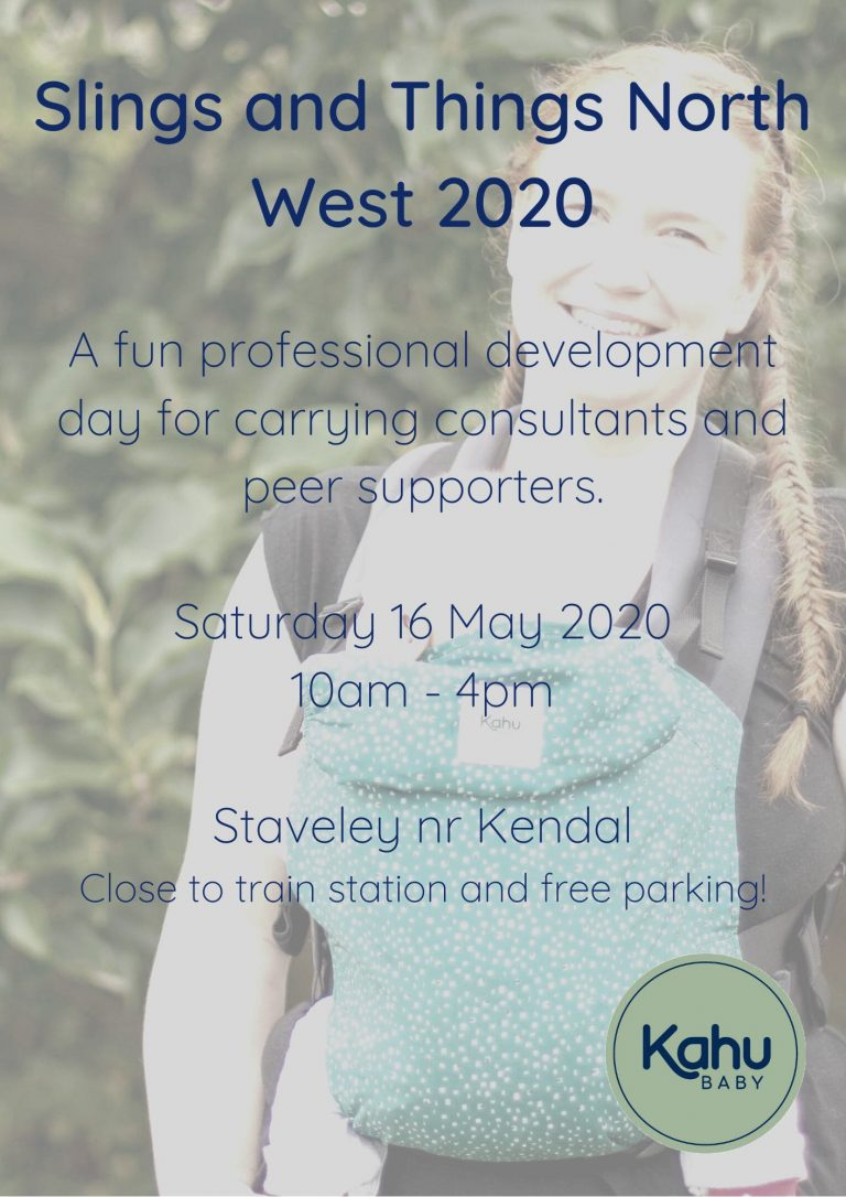 KahuBaby professional development day will be Saturday 16th May 2020.