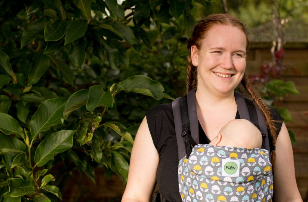 Parenting with a disability can throw up a whole host of new challenges. babywearing is a tool that often helps.