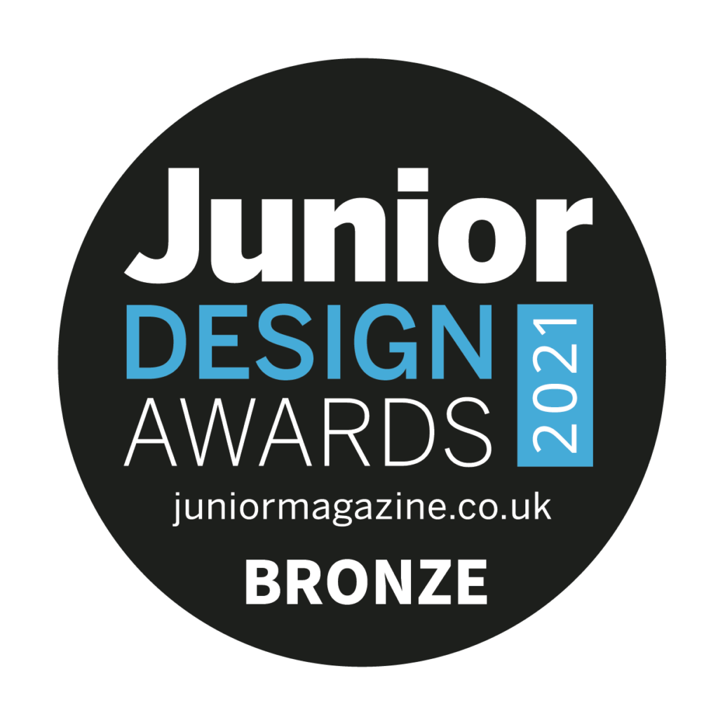 KahuBaby wins bronze in the Junior Design Awards 2021