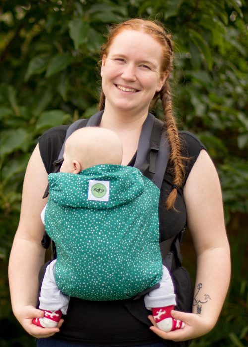 KahuBaby Carrier in Pine Dash