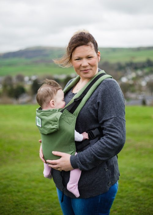 Buy your KahuBaby Carrier in Moss Green