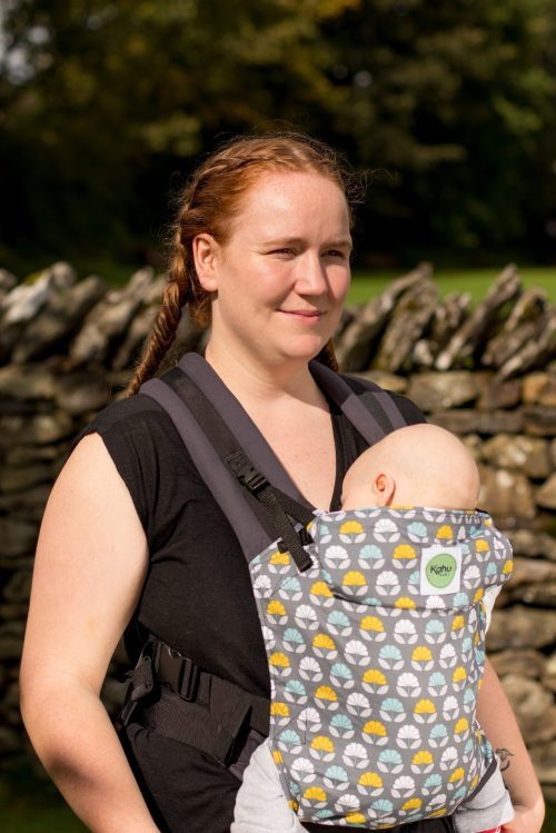 Simple togetherness with KahuBaby's multiway baby carrier